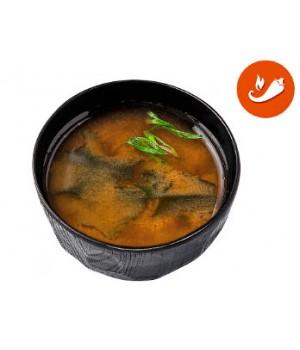 Острый Мисо суп