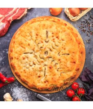 Осетинский пирог с мясом (Фыдджын)