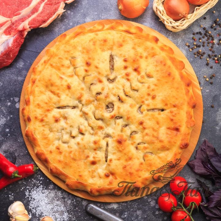 Осетинский пирог с мясом Фыдджин