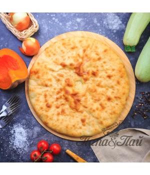 Осетинский пирог с тыквой (Насджын)