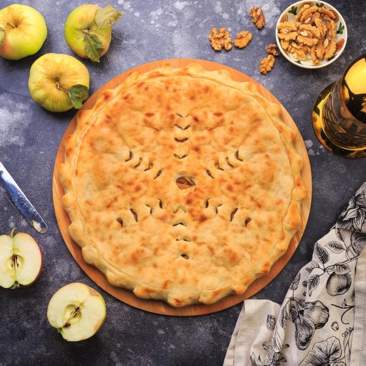Осетинский пирог с яблоком (Фæткъуыджын)