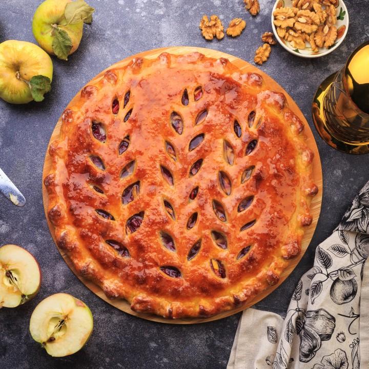 Сладкий пирог с яблоком (Кадагонд фæткъуыимæ)