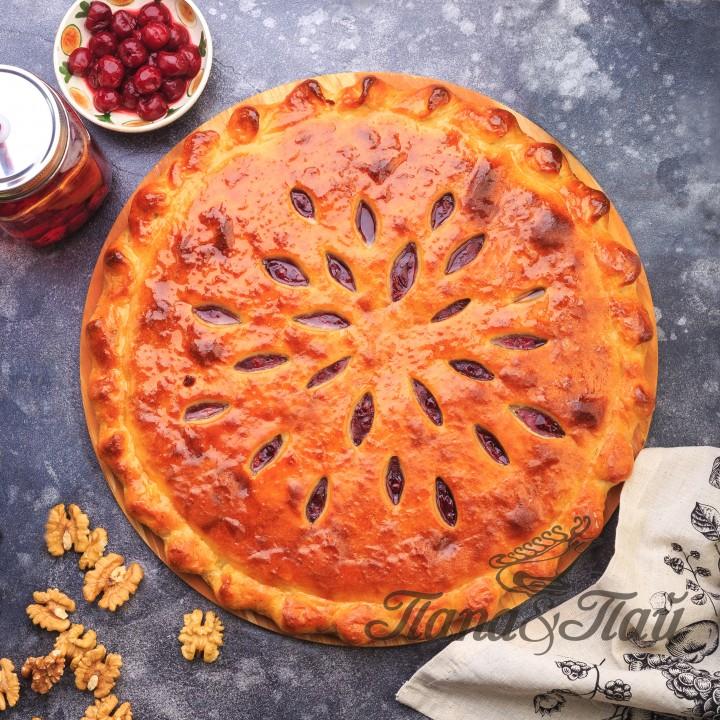 Сладкий сдобный пирог с вишней (Кадагонд балимæ)