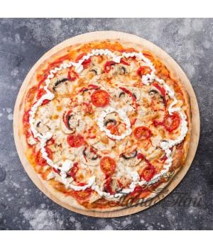 """Пицца """"Курица сыр грибы""""  350/620/750 грамм"""